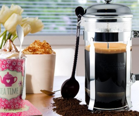 Looking for that perfect cup of coffee? Kitchen Supreme launches a modern version French Press