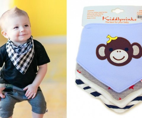 Kiddlywinks Baby Bandana Bibs – Say Goodbye to Boring Bibs