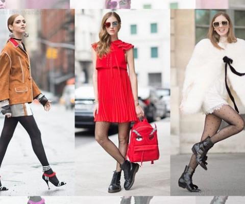 Interview with Star Fashion Blogger Chiara Ferragni for Calzedonia