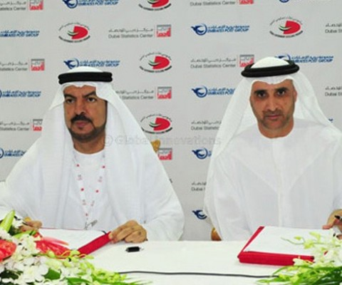 Emirates Post Group and Dubai Statistics Center Sign MoU for Sharing Data