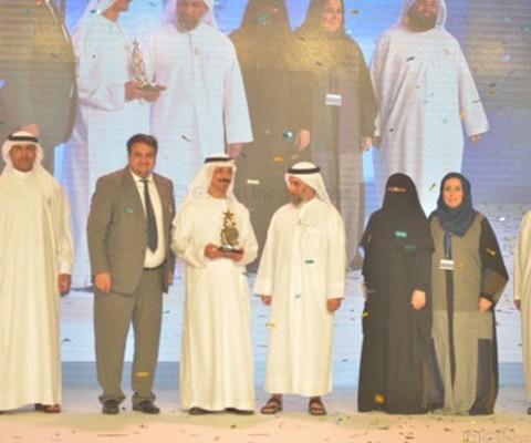 Dubai Customs celebrates its win of DGEP awards and honours winners