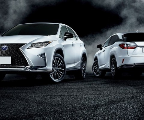 Lexus RX 350 named 'Best Small Premium SUV' at 2016 Middle East Car of the Year Awards
