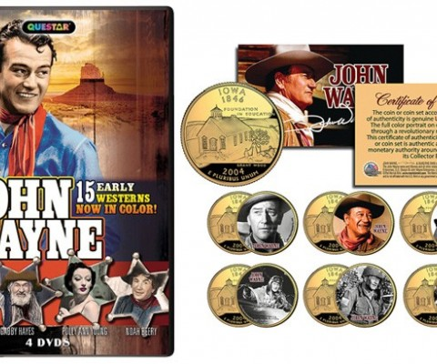 John Wayne Collectables Has Updated Its Product Offerings For Spring 2016