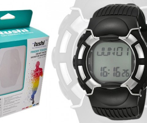 Tushi Launches Watch with Finger Touch Heart Rate Monitor