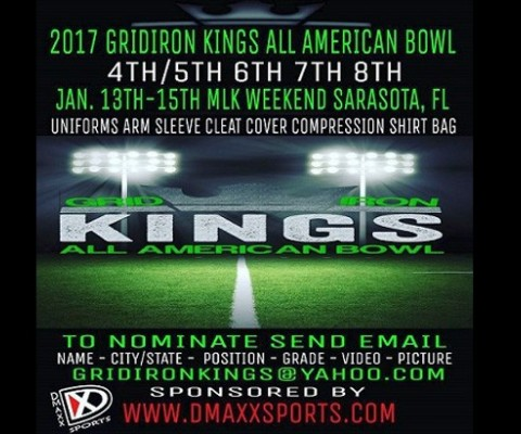 Gridiron Kings All American Bowl Offers Youth Football Players Around The Nation