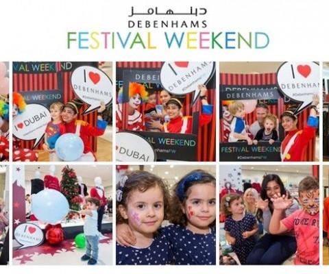Debenhams Festival Weekend… Back on Popular Demand