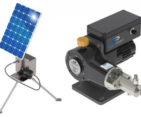 Checkpoint Pumps and Systems unveil innovative solar-powered chemical pumping system
