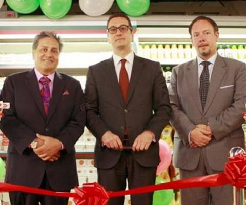 Bulgarian Minister opens Bulgarian Dairy Range at Al Maya Supermarkets