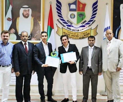 Skyline University College (SUC) Won Sharjah Sustainability Award 2016