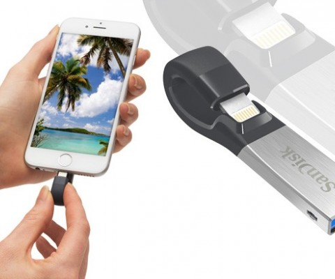 SanDisk Reinvents its Flash Drive for iPhone and iPad