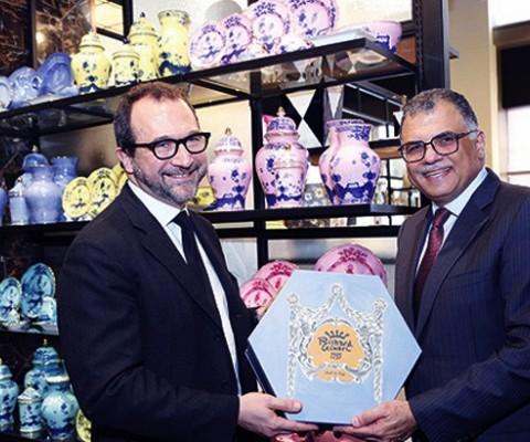 Abu Issa Holding brings the renowned Italian Brand Richard Ginori to GCC