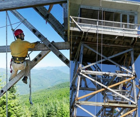 Mountain Community Launches Fund Drive to Finish Historic Fire Lookout Restoration