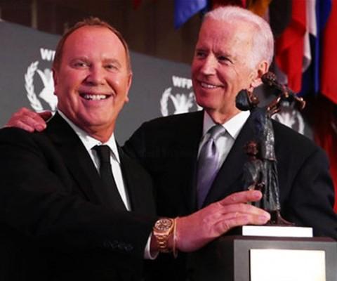 Vice President Joe Biden and World Food Program USA Honor Designer Michael Kors