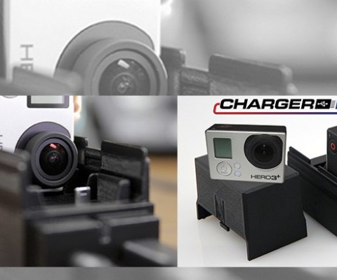 ChargerPro: The first ever expandable multiple GoPro Camera charger
